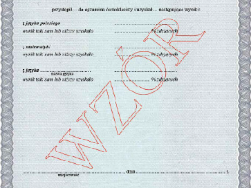 Odbiór zaświadczeń o wynikach egzaminu ósmoklasisty