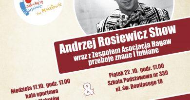 Andrzej Rosiewicz Show w naszej szkole